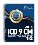 2014 Legacy ICD-9-CM Expert for Physicians, Vols 1-2