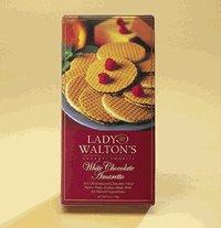 Four 6-oz Boxes of White Chocolate Amaretto Cookies