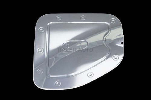 Razer Auto Short Bed Chrome ABS Gas Door Cover for 2005-2013 Toyota Tacoma