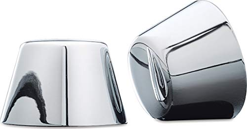 - Kuryakyn 1201 Motorcycle Accent Accessory: Front End Axle Nut Caps for 1980-2007 Harley-Davidson Motorcycles, Chrome, 1 Pair