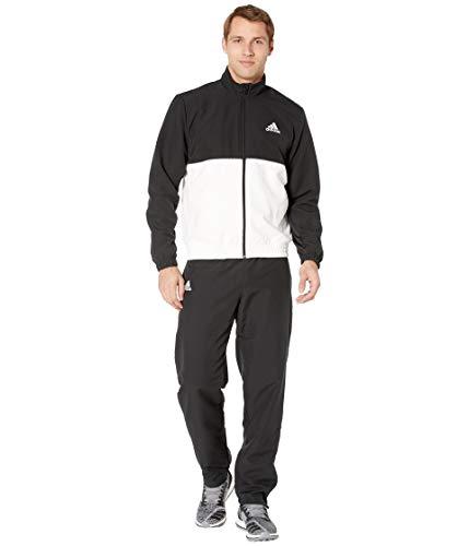 adidas Men's Club Tracksuit Black/White Large