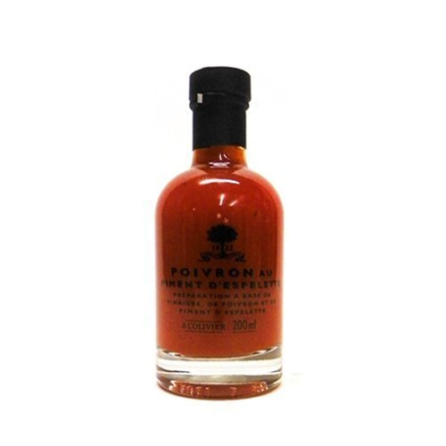 - Espelette Basque Vinegar By A L'Olivier 200 ml by A L'Olivier
