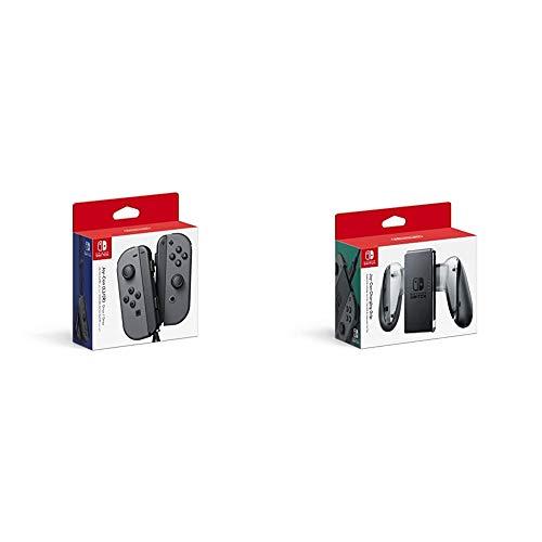 Nintendo Joy-Con (L/R) - Gray & Joy-Con Charging Grip