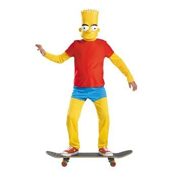 Bart Simpson Deluxe Child Costume - -