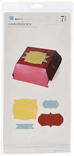 QUICKUTZ Lifestyle Crafts Hamburger Box Cookie Cutter Die