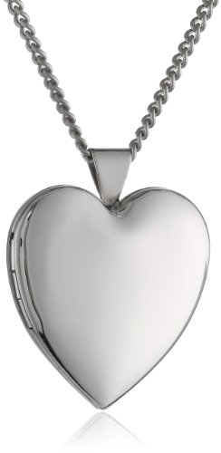 Hand Polished Plated Heart 26m