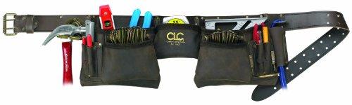 CLC Custom Leathercraft 19427 Construction Work Apron, Oiled Leather, 12 ()