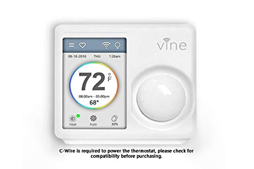 Our #7 Pick is the Vine Wi-Fi Thermostat