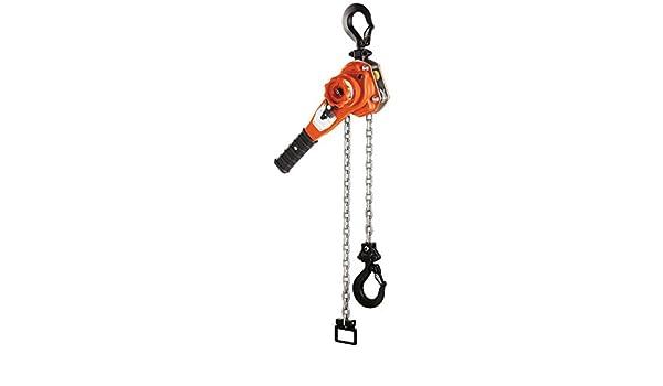 3//4 Ton Capacity CM BAN075LCXLL Bandit Ratchet Lever Hoist Chainless with Load Limiter 14.68 Length