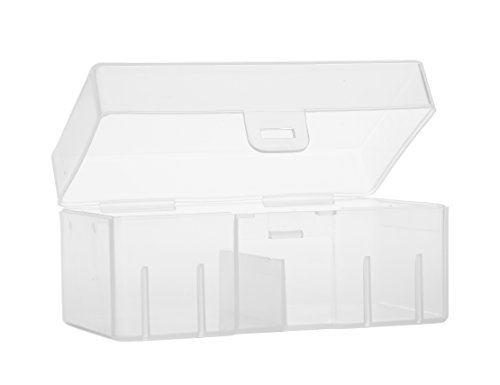 Whizzotech 9 Volt Battery Storage Case 9V Battery Holder Organizer Box Container BL04 ()