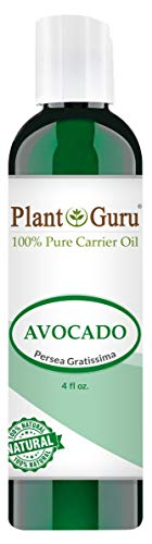 Avocado Oil 4 oz Cold Pressed Carrier 100% Pure Natural Skin