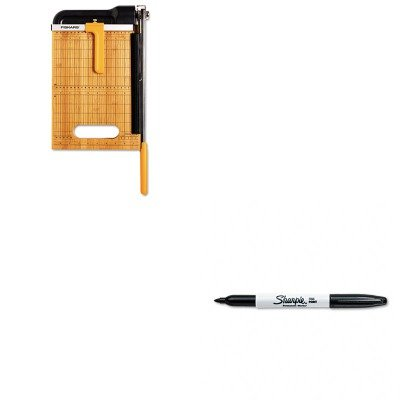 [KITFSK01005744SAN30001 - Value Kit - Fiskars Bypass Bamboo Base (FSK01005744) and Sharpie Permanent Marker (SAN30001)] (Permanent Bypass Kit)