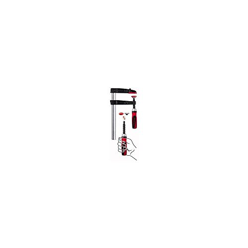 Bessey TG30S10-2K Screw Clamp Tg-2K 11.81In/3.94In of Cast-IRON, Black/Red/Silver by Bessey
