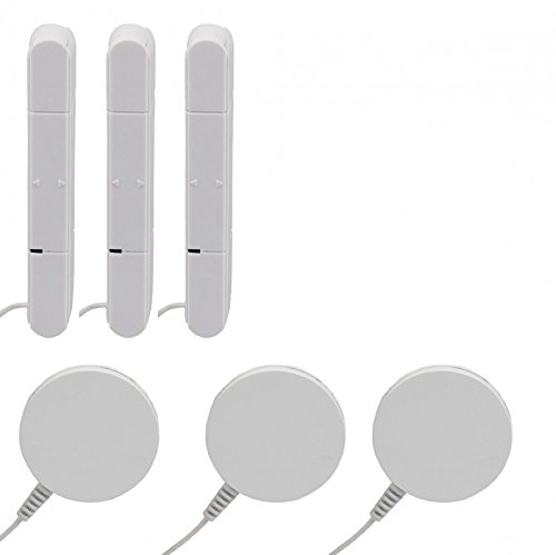 3er Spar Set Glasbruchmelder für OLYMPIA Alarmanlagen der Protect Serie 6571 60xx 90xx