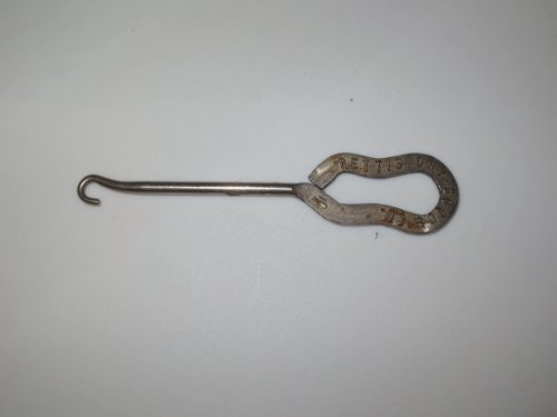 Vintage Advertising Collectible: Antique Shoe Hook