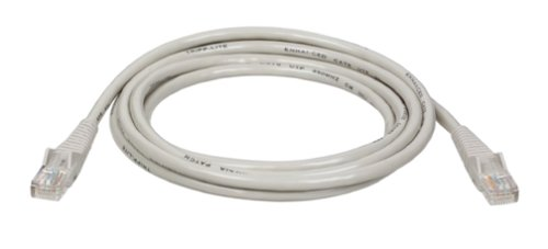 Tripp Lite Cat5e 350MHz Snagless Molded Patch Cable (RJ45 M/M) - Gray, ()