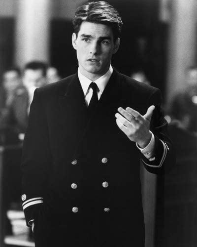 A Few Good Men Tom Cruise Scene In Court Room 8x10 Hd Aluminum Wall Art At Amazon S Entertainment Collectibles Store