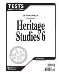 Heritage Studies Tests Answer Key Grd 6 2nd Edition