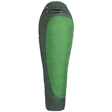 Marmot Trestles 30 Synthetic Sleeping Bag, Regular-Right, Green