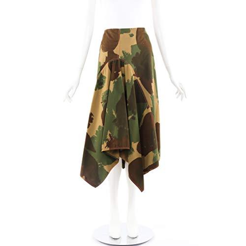 Victoria Victoria Beckham Skirt Camouflage Handkerchief Hem SZ 12 UK