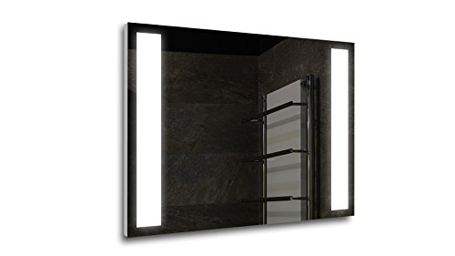 Tilebay LLC Lazio Led Lighted Mirror | Bathroom Mirror | Led Make-up Mirror | 3 Switch Types Available (43x31, Remote Control)