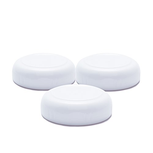 JOOVY Boob Glass Bottle Sealing Caps, 3 Count