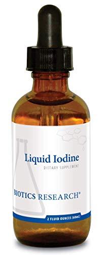 Biotics Research Liquid Iodine- Liquid Formula, Iodine 75mcg/Drop, Thyroid Health, Energy Levels, Metabolic Health, Key Trace ()