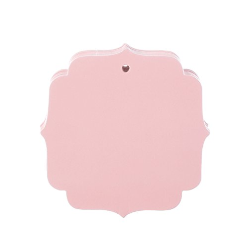 Darice Pink Shield Shaped Tags, 20 Piece