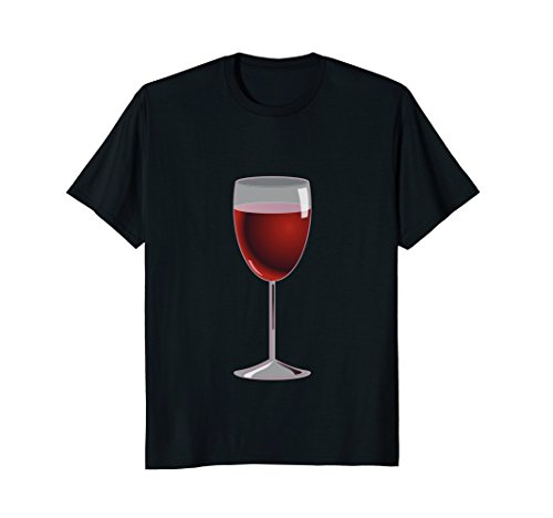 Mens Wine Glass Costume T-Shirt Matching Cheese Wedge Pair Tee 2XL (Last Minute Costume Ideas For Best Friends)