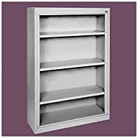 Sandusky Lee BA30361852-04 Elite Series Welded Bookcase, 18 x 52 x 36, Tropic Sand