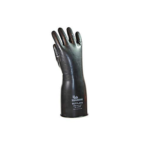 Guardian Manufacturing 50704 Butyl Smooth Chemical Resistant Glove, 7 mil Thickness, Large, 14