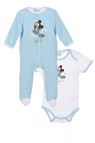 Disney Baby Mickey Mouse Set de Regalo Body Pijama