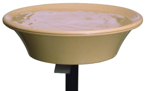 API 13B Non-Heated Bird Bath with EZ-Tilt Deck Mount, 14-Inches, My Pet Supplies