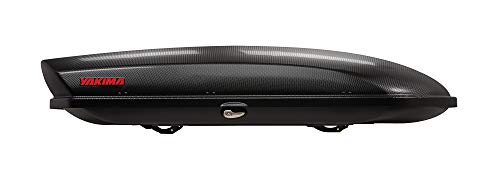 8. Yakima SkyBox Carbonite Cargo Box – Our Top Pick