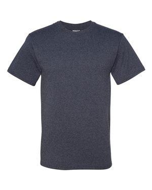 Jerzees 5.6 oz.; 50/50 Heavyweight Blend T-Shirt - VINTAGE HTH NAVY - 2XL
