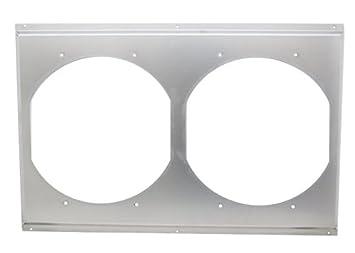 Amazon radiator fan shroud dual unit 27 12 x 18 12 radiator fan shroud dual unit 27 12quot sciox Choice Image