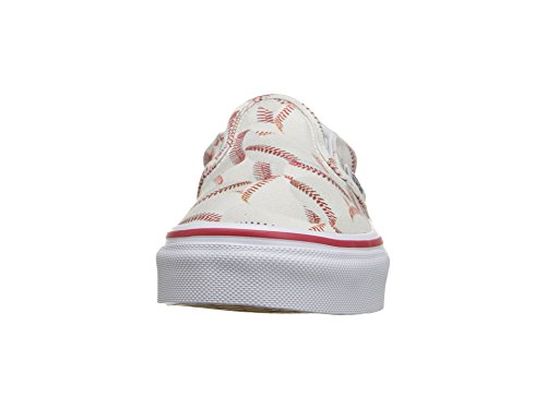 Vans Kids Sports Slip-on Shoe (11.5 Little Kid M, Baseball/Red) - Image 4