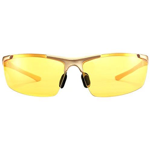 HD - Night Driving Glasses Rain Day Driving Anti Glare Polarized Sport Sunglasses