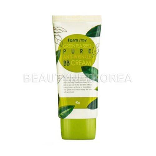 Farm Stay Green Tea Seed Pure Anti-Wrinkle BB Cream 40g/1.3oz 40g Anti Wrinkle Cream
