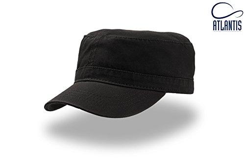 Gorra talla unisex visera Atlantis Black única Uniform CwT5PSqcx