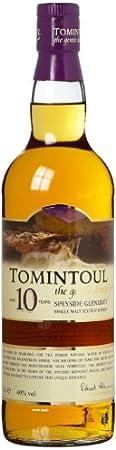 Tomintoul 10 Year Old Single Malt Scotch Whisky 70 cl