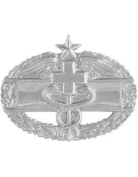 - NS-519, Combat Medical 2nd Award Dress Miniature, No-Shine NO SHINE