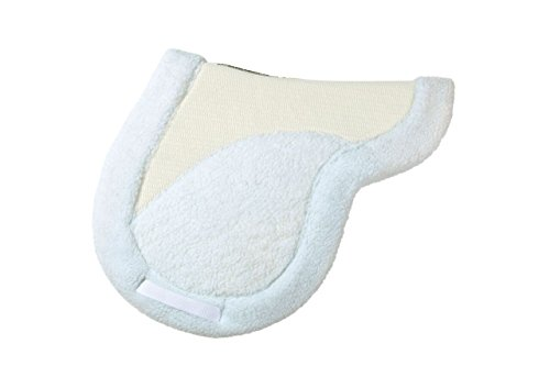 Success Equestrian Deluxe Hunter NO Slip Saddle Pad White, Large