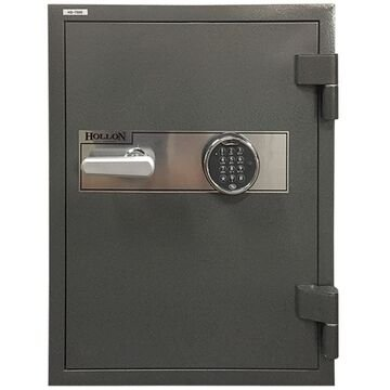 - Hollon HS-750E 2 Hr. Fireproof Home/Office Safe, 2.43 cu. ft., Electronic Keypad Lock Charcoal Gray