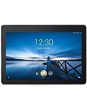 """Lenovo TAB E10 Tablet, Display 10,1"""" HD IPS, Processore Qualcomm Snapdragon 210, 16GB espandibili fino a 128GB, RAM 1GB, WiFi, Fotocamera Anteriore 2MP, Fotocamera Posteriore 5MP,2 Speaker,Slate Black"""