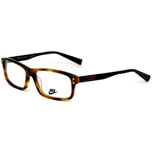 Nike Eyeglasses 7206 220 Tortoise Black Demo 55 16 (220 Eyeglasses)