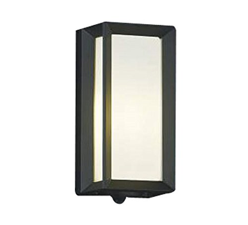 コイズミ照明 人感センサ付ポーチ灯 タイマー付ON-OFFタイプ 黒色 AU40407L B00KVWJA80 13126