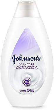 Loção Hidratante Daily Care Lavanda e Camomila Johnson's, 4