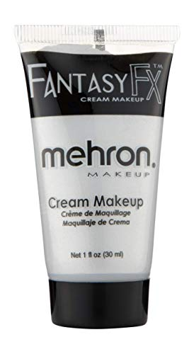 Mehron Makeup Fantasy F/X Water Based Face & Body Paint (1 oz) (Silver) -