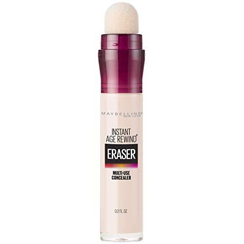 Maybelline Instant Age Rewind Eraser Dark Circles Treatment Multi-Use Concealer, Fair, 0.2 fl. oz. (Best Coverage Drugstore Powder)